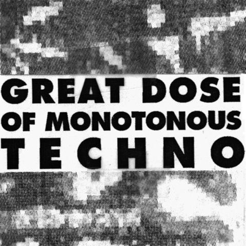 Ü,‎–,Great,Dose,Of,Monotonous,Techno,LP, Great Dose Of Monotonous Techno, LP, Digitalis, 2012, vinilo, comprar, twosteprecords, two step records, Two-Step Records