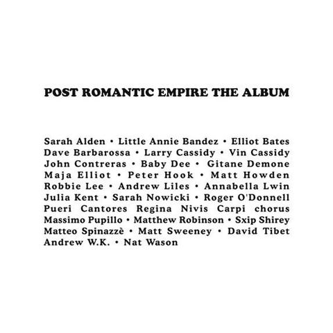 Various,‎–,The,Post,Romantic,Empire,Album,2xLP+7, The Post Romantic Empire Album, Our Sweetest Songs, LP
