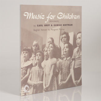Carl Orff and,Gunild,Keetman,‎–,Music,For,Children,LP,Carl Orff and Gunild Keetman,  Music For Children, LP, Trunk, vinyl