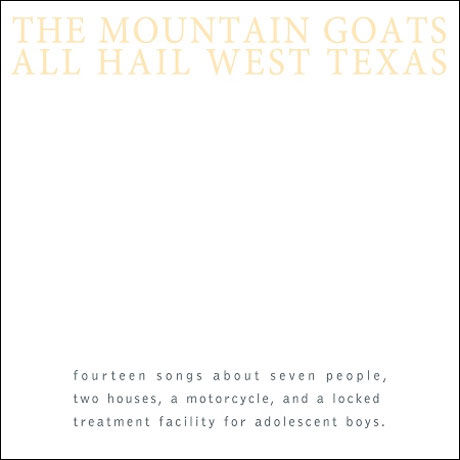The,Mountain,Goats,‎–,All,Hail,West,Texas,LP,The Mountain Goats, All Hail West Texas, Merge, LP, vinyl