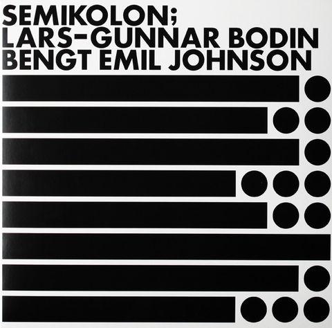 Lars-Gunnar,Bodin,/,Bengt,Emil,Johnson,–,Semikolon,LP,Lars-Gunnar Bodin, Bengt Emil Johnson, Semikolon, Paradigm Records, LP, vinyl