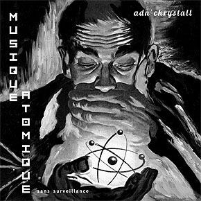 ADN',Ckrystall,–,Musique,Atomique,Sans,Surveillance,LP,ADN' Ckrystall, Musique Atomique Sans Surveillance, Treue Um Treue, LP, vinyl