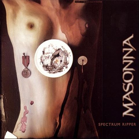 Masonna,‎–,Spectrum,Ripper,LP+CD, Spectrum Ripper, Cold Spring, LP, vinyl
