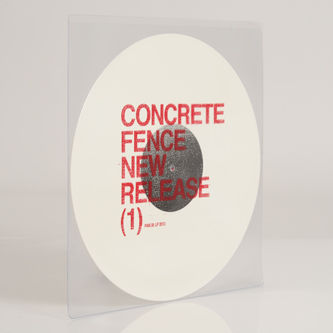 Concrete,Fence,‎–,New,Release,(1),EP,Concrete Fence, New Release (1), PAN, Vinyl, vinilo, comprar, twosteprecords, two step records, Two-Step Records