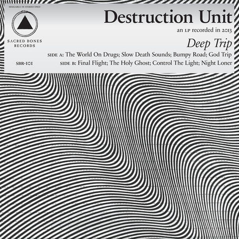 Destruction,Unit,‎–,Deep,Trip,LP,Destruction Unit, Deep Trip, LP,Sacred Bones, Vinyl