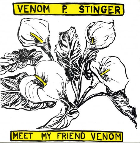 Venom,P.,Stinger,‎–,Meet,My,Friend,LP,Venom P. Stinger, Meet My Friend Venom, Drag City, vinyl, vinilo