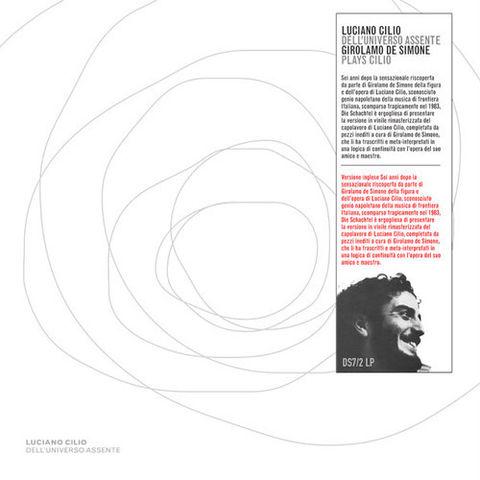 Luciano,Cilio,–,Dell'Universo,Assente,2xLP,Luciano Cilio, Dell'Universo Assente, Die Schachtel, LP, vinyl