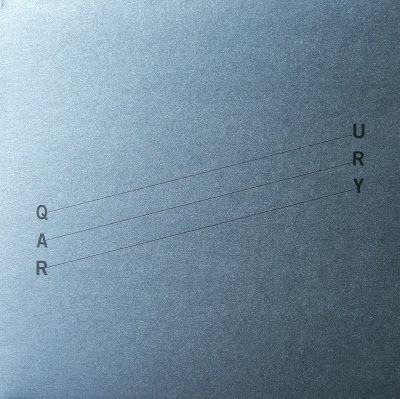 Giuseppe,IELASI,/,Adam,ASNAN,‎–,Quarry,LP,Giuseppe IELASI / Adam ASNAN, Quarry, LP, vinyl, Holidays Records