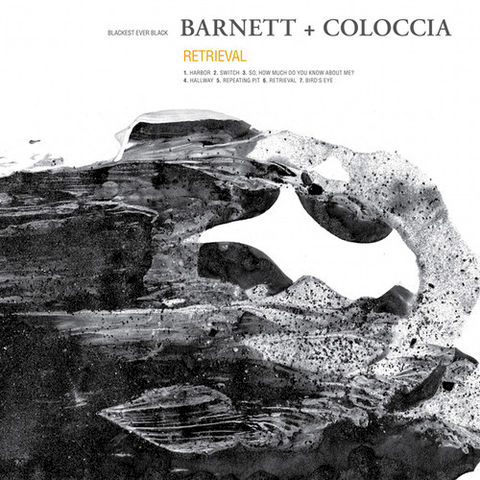 Barnett,+,Coloccia,‎–,Retrieval,LP,Barnett + Coloccia, Retrieval, Blackest Ever Black, LP, vinilo, comprar, twosteprecords
