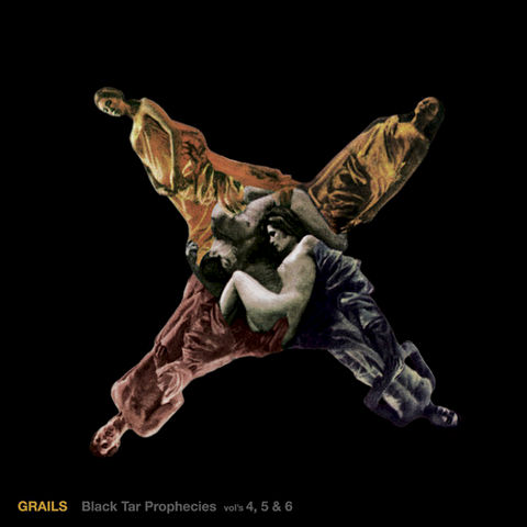 Grails,‎–,Black,Tar,Prophecies,Vol's,4,,5,&,6,2xLP, Black Tar Prophecies Vol's 4, 5 & 6, LP, Temporary Residence, Vinyl