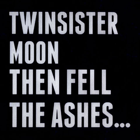 Twinsistermoon,,Then,Fell,The,Ashes...,LP, Then Fell The Ashes, LP, Blackest Rainbow, vinilo, comprar, twosteprecords, two step records, Two-Step Records