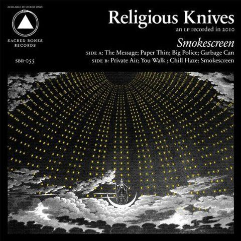 Religious,Knives,,Smokescreen,LP,Religious Knives, Smokescreen, Sacred Bones, LP, vinyl, vinilo