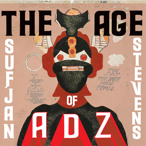 Sufjan,Stevens,–,The,Age,Of,Adz,2xLP,Sufjan Stevens, The Age Of Adz, Asthmatic Kitty, LP, vinyl, vinilo