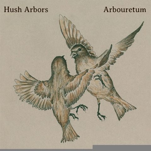 Hush,Arbors,/,Arbouretum,,Aureola,LP,(Record,Store,Day),Hush Arbors / Arbouretum, Aureola, Thrill Jockey, LP, vinilo, comprar, twosteprecords, two step records, Two-Step Records