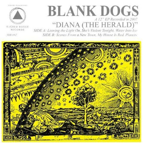 Blank,Dogs,‎–,Diana,(The,Herald),EP,Blank Dogs, Diana (The Herald), Sacred Bones, Vinilo, vinilo, comprar, twosteprecords, two step records, Two-Step Records