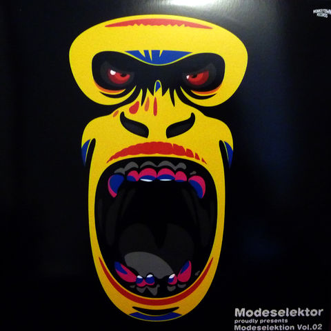 Modeselektor,‎–,Proudly,Presents,Modeselektion,Vol.,02,3xLP, Modeselektor Proudly Presents Modeselektion Vol. 02, Vinyl, Monkeytown Records