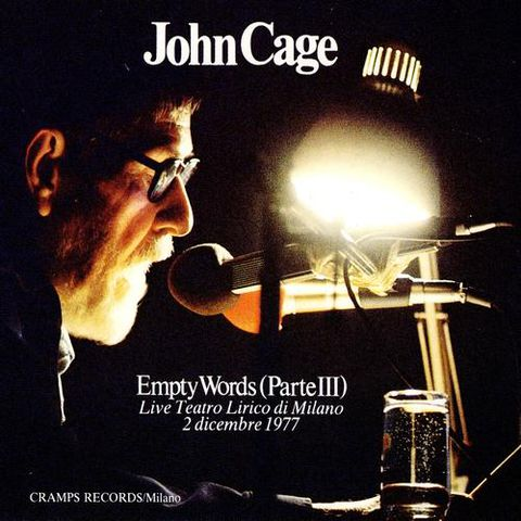 John,Cage,,Empty,Words,(Parte,III),3x,180gm.,LP,Boxset,John Cage, Empty Words III, Mirumir, LP