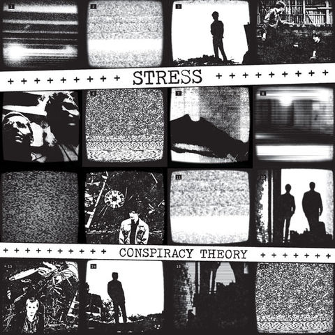 Stress,‎–,Conspiracy,Theory,LP, Conspiracy Theory, Dark Entries, LP, vinyl