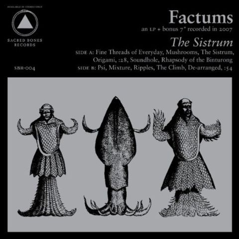 Factums,‎–,The,Sistrum,LP, The Sistrum, Sacred Bones, LP, vinyl, vinilo
