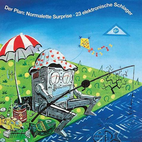 Der,Plan,‎–,Normalette,Surprise,·,23,Elektronische,Schlager,LP,Der Plan, Normalette Surprise · 23 Elektronische Schlager, Bureau B, Untitled, LP, vinilo