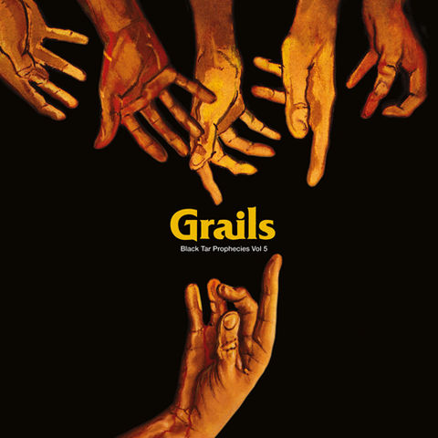 GRAILS,/,PHARAOH,OVERLORD,–,Black,Tar,Prophecies,Volume,5,LP, PHARAOH OVERLORD, Black Tar Prophecies Volume 5, Kemado, LP, vinyl