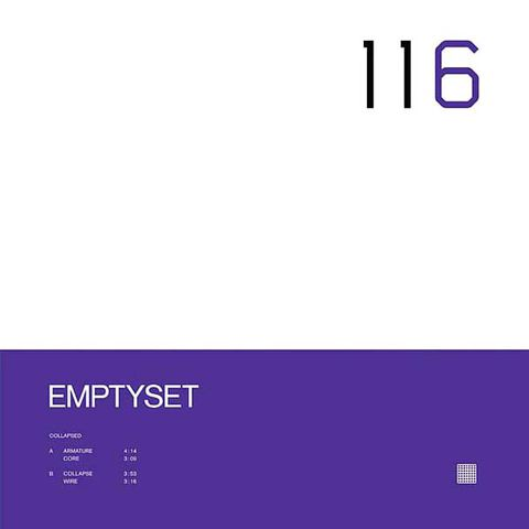 Emptyset,,Collapsed,12, Collapsed, Raster-Noton, LP, Vinyl