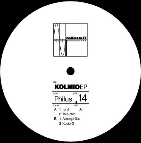 Philus,,Kolmio,EP, Kolmio EP, Sahko, EP, vinyl