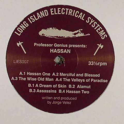 Professor,Genius,,Hassan,2x12,Professor Genius, Hassan, L.I.E.S., 12, vinyl