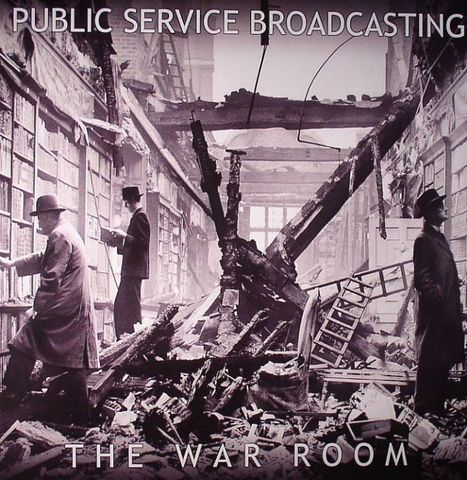 Public,Service,Broadcasting,,The,War,Room,EP,Public Service Broadcasting, The War Room, vinyl, LP, Test Card Recordings