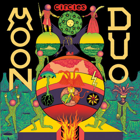 Moon,Duo,‎–,Circles,LP,Moon Duo, Circles, Souterrain Transmissions, LP, vinyl