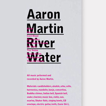 Aaron,Martin,‎–,River,Water,CD,Aaron Martin, River Water, Preservation, CD