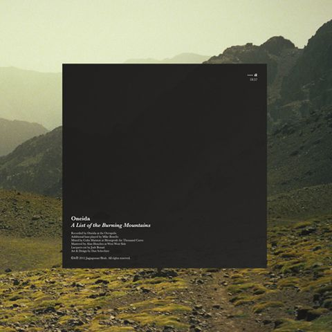 Oneida,-,A,List,of,the,Burning,Mountains,LP, Absolute II, Jagjaguwar, LP, vinilo, vinyl