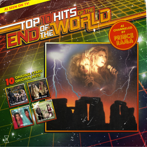 Prince,Rama,,Top,Ten,Hits,Of,The,End,World,LP,Prince Rama, Top Ten Hits Of The End Of The World, Paw Tracks, Vinyl, vinilo, comprar, twosteprecords, two step records, Two-Step Records
