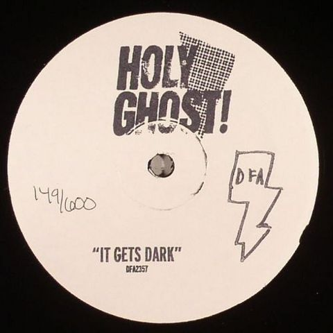 Holy,Ghost!,,It,Gets,Dark,12,Holy Ghost!  It Gets Dark, DFA, Vinyl, 12