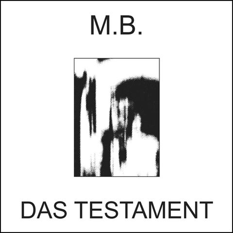M.B.,‎–,Das,Testament,LP, Das Testament, LP, vinilo, Backwards