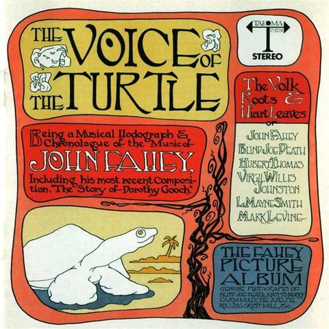 John,Fahey,‎–,The,Voice,Of,Turtle,LP,John Fahey, The Voice Of The Turtle, 4 Men With Beards, LP, vinyl