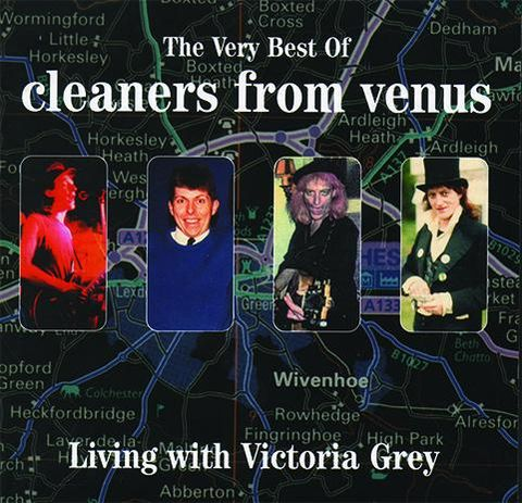 Cleaners,From,Venus,‎–,Living,With,Victoria,Grey:,The,Very,Best,Of,2xLP,Cleaners From Venus, Living With Victoria Grey: The Very Best Of, Optic Nerve, LP, vinyl