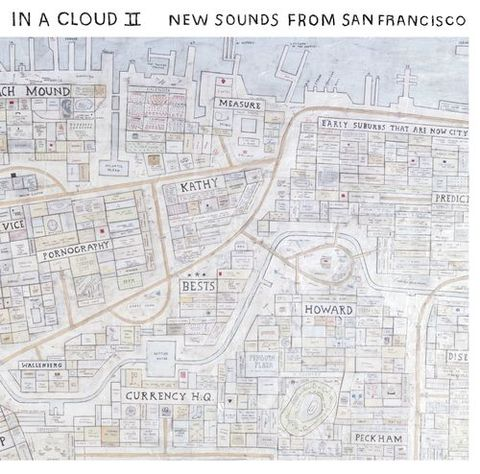 Various,‎–,In,A,Cloud,II,-,New,Sounds,From,San,Francisco,LP, In A Cloud II - New Sounds From San Francisco, Secret Seven, LP, vinyl