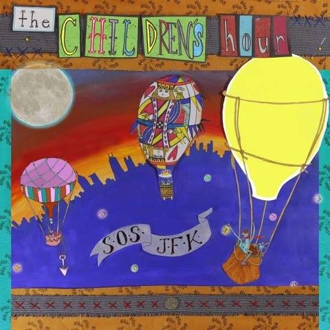 The,Children's,Hour,‎–,SOS,JFK,LP,The Children's Hour, SOS JFK, vinyl, Fire, reissue
