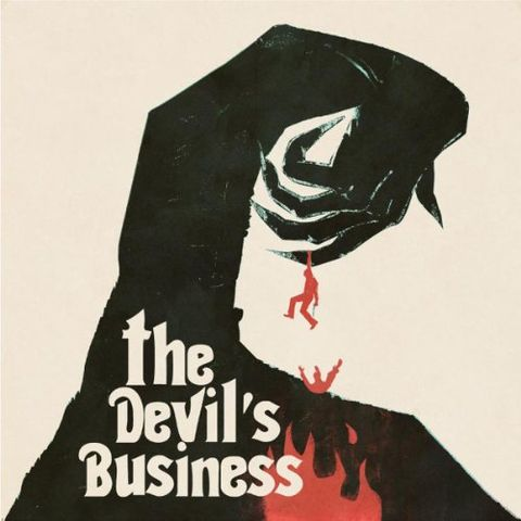 Justin,Greaves,‎–,The,Devil's,Business,OST,LP+Poster,Justin Greaves, The Devil's Business OST, Death Waltz, LP, vinyl