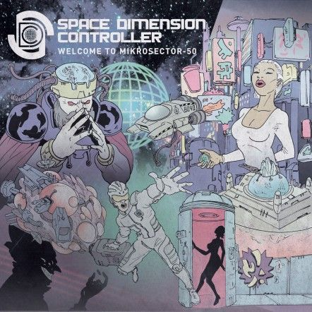 Space,Dimension,Controller,‎–,Welcome,To,Mikrosector-50,2xLP,Space Dimension Controller, Welcome To Mikrosector-50, R & S Records, LP, vinilo, comprar, twosteprecords