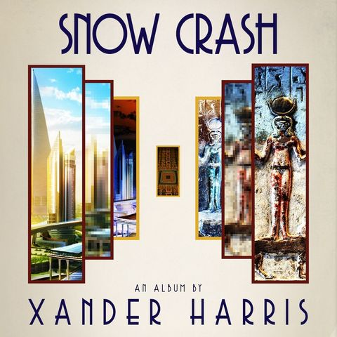 XANDER,HARRIS,-,SNOW,CRASH,LP,XANDER HARRIS, SNOW CRASH, Desire Records, LP