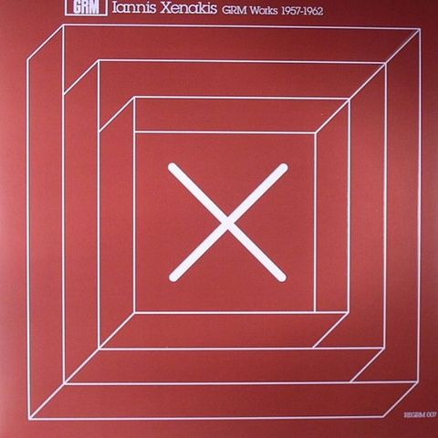 Iannis,Xenakis,,GRM,Works,1957-1962,LP,Iannis Xenakis, GRM Works 1957-1962, Recollection GRM, Mego, vinyl, LP