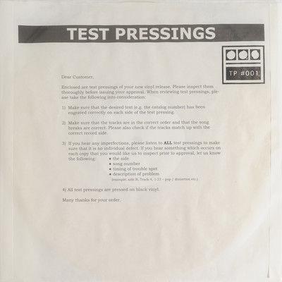 Demdike,Stare,–,Testpressing,#001,EP,Demdike Stare, Testpressing #001, Modern Love, LP, vinyl