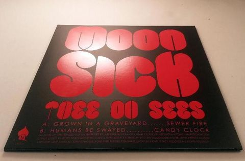 Thee,Oh,Sees,‎–,Moon,Sick,EP,(RSD,2013),Thee Oh Sees, Moon Sick EP, LP, vinyl, Castle Face