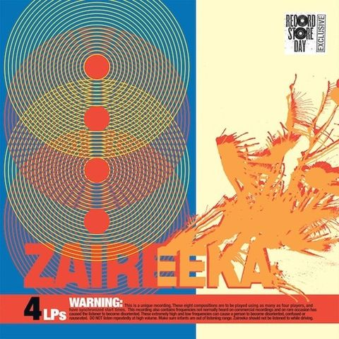 Flaming,Lips,‎–,Zaireeka,4xLP,Boxset,(RSD,2013),Flaming Lips, Zaireeka, Record Store Day, LP, Warner