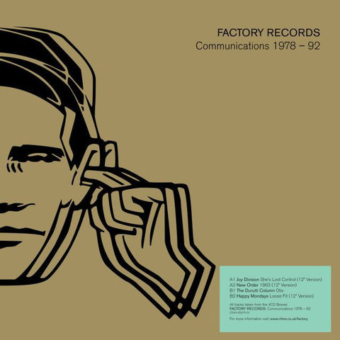 Various,,Factory,Records:,Communications,1978-92,10,(RSD,2013), Factory Records: Communications 1978-92 10, Record Store Day, LP, Warner