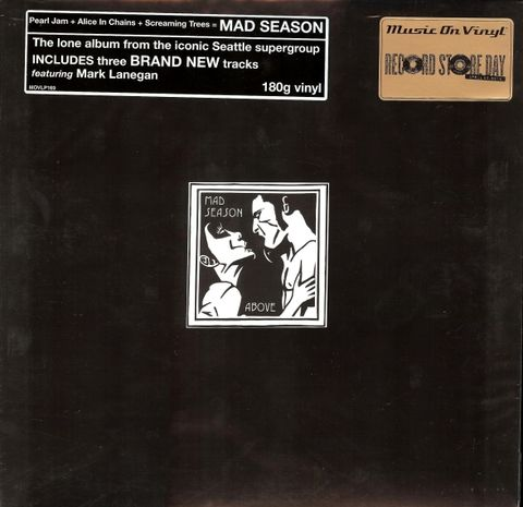 Mad,Season,‎–,Above,2xLP,(RSD,2013),Mad Season, Above, Music On Vinyl, LP, vinyl