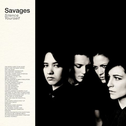 Savages,‎–,Silence,Yourself,LP, Silence Yourself, Matador, LP, vinyl, vinilo