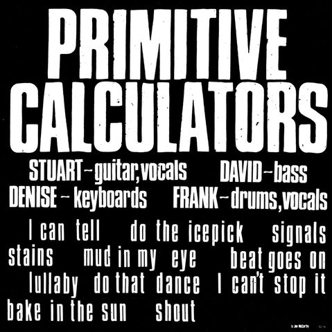 Primitive,Calculators,‎–,LP,Primitive Calculators ‎– Primitive Calculators, Desire Records, LP